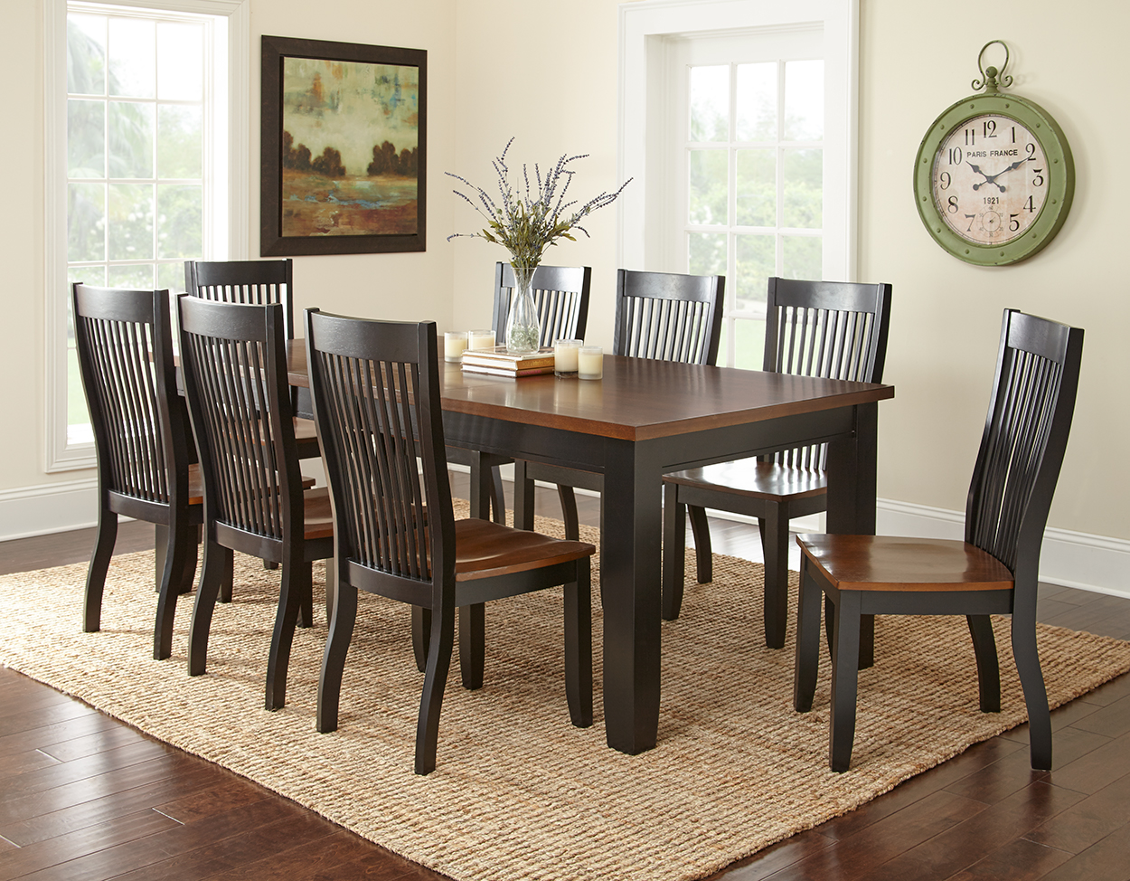 Costco dining room set universal furniture rosemont dining set 7piece dining room set from - Costco dining room set ...